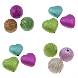 Stardust Acrylic Beads