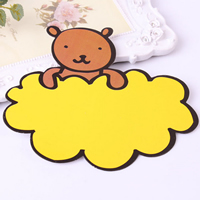 Paper Blank Advertising Paper Tag, Bear, 135x150mm, Sold By PC