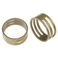 Brass Jump Ring Closer, antique bronze color plated, lead & cadmium free, 19x8mm, US Ring Size:6.5, Sold By PC