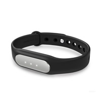Smart Sport Bracelet, Silicone, with Aluminum, black, 36x14x9mm, Length:Approx 9 Inch, Sold By PC