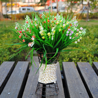 Artificial Flower Home Decoration, Plastic, more colors for choice, 28cm, Sold By PC