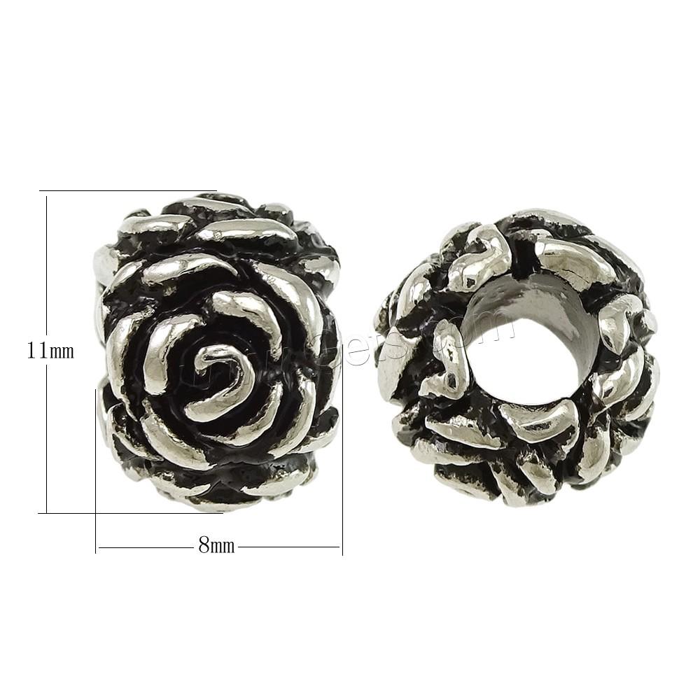 edelstahl european perlen trommel ohne troll schw rzen 11x8mm bohrung ca verkauft. Black Bedroom Furniture Sets. Home Design Ideas