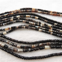 Natural Lace Agate Beads, Bamboo, 6x8mm, Hole:Approx 1mm, Length:Approx 15.7 Inch, Approx 50PCs/Strand, Sold By Strand