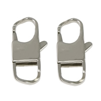 Stainless Steel Lobster Claw Clasp, 316L Stainless Steel, original color, 12x25x4mm, Sold By PC