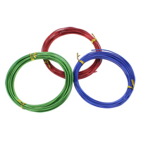 Aluminum Wire, electrophoresis, different size for choice, more colors for choice, Sold By Spool