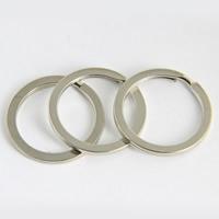Iron Key Split Ring, platinum color plated, lead & cadmium free, 1.8x25mm, 1000PCs/Bag, Sold By Bag