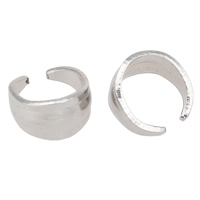 Stainless Steel Snap on Bail, original color, 4.8x8mm, Sold By PC