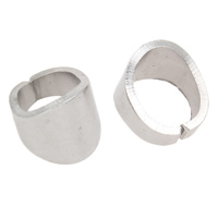 Stainless Steel Snap on Bail, original color, 8x10mm, Sold By PC