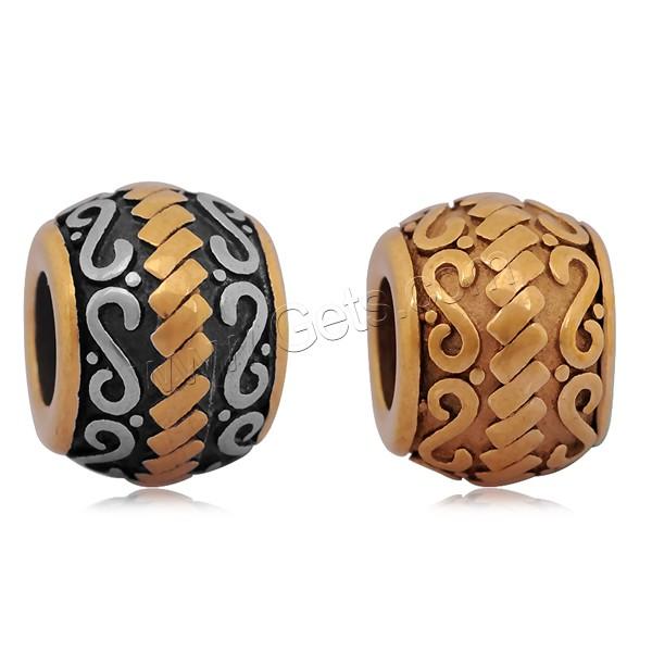 edelstahl european perlen 316 l edelstahl trommel ohne troll schw rzen keine 9x12mm. Black Bedroom Furniture Sets. Home Design Ideas