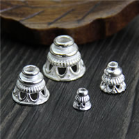 Sterling Silver Bead Caps, 925 Sterling Silver, different size for choice, Sold By PC