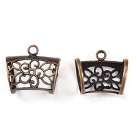 Zinc Alloy Scarf Slide Bail, antique copper color plated, lead & cadmium free, 32x29x22mm, Hole:Approx 3mm, 20mm, 10PCs/Bag, Sold By Bag