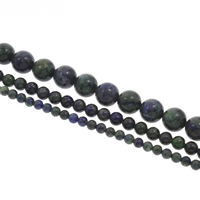 Synthetic Lapis Lazuli Bead, Round, different size for choice, Hole:Approx 1mm, Length:Approx 15 Inch, Sold By Strand