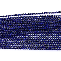Synthetic Lapis Lazuli Bead, Round, different size for choice, Hole:Approx 0.5mm, Length:Approx 15.5 Inch, Sold By Strand