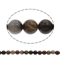 Natural Lace Agate Beads, Round, 10mm, Hole:Approx 1mm, Length:Approx 15.5 Inch, Approx 40PCs/Strand, Sold By Strand