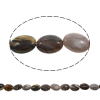 Natural Lace Agate Beads, Flat Oval, 20x16x6mm, Hole:Approx 1mm, Length:Approx 15.5 Inch, Approx 20PCs/Strand, Sold By Strand