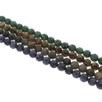 Gemstone Beads, Round, different materials for choice & faceted, 10mm, Hole:Approx 1mm, Length:Approx 14.5 Inch, Approx 38PCs/Strand, Sold By Strand