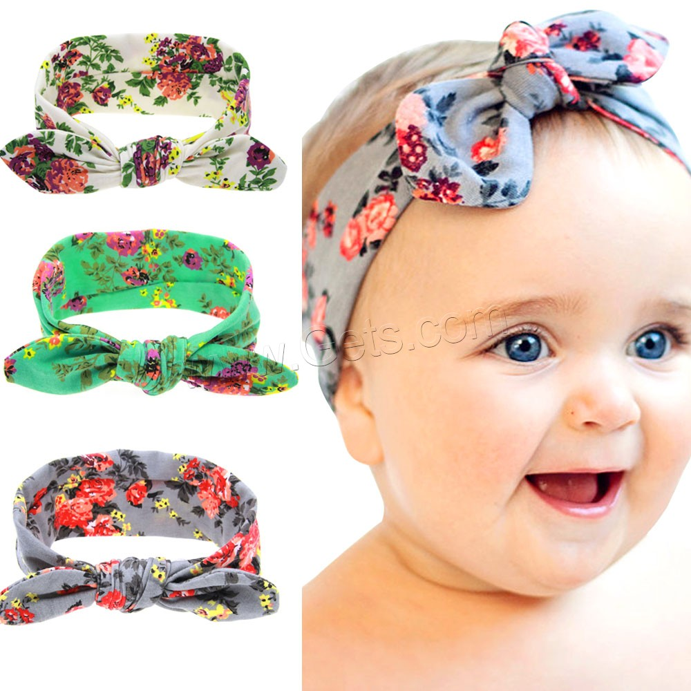 Childrens headband, khbk, acrylic headband, assorted color with butterfly pattern, colors include blue, pink, white, yellow, and green, headband is 2 inch wide, 12 per unit. (you receive 12 headbands .