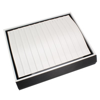 Cardboard Necklace Box, Rectangle, 300x250x85mm, Sold By PC