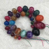 Natural Rainbow Agate Beads, 10-20mm, Length:Approx 15 Inch, Sold By Strand