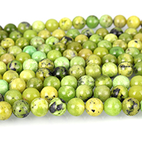Australia Chrysoprase Bead, Round, natural, more sizes for choice, Grade AB, Length:15 Inch, Sold By Strand