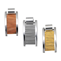 Stainless Steel Pendants, plated, more colors for choice, 15.5x30x8mm, Hole:Approx 6.4mm, Sold By PC