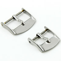 201 Stainless Steel Pin Buckle, polished, different size for choice, original color, Sold By PC