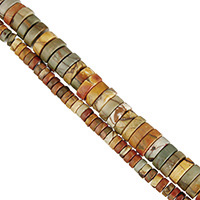 Red Pine Beads, Flat Round, natural, different size for choice, Hole:Approx 0.5-1mm, Length:Approx 16 Inch, Sold By Strand