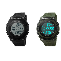 comeon® Men Jewelry Watch, Silicone, with Plastic, LED & for man & waterproof, more colors for choice, 48mm, Length:Approx 9.4 Inch, Sold By PC