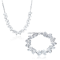 comeon® Jewelry Set, Brass, earring & necklace, with 1.9lnch extender chain, Butterfly, silver color plated, oval chain & for woman & hollow, 25x12mm, 25x12mm, Length:Approx 17.7 Inch, Approx 7.8 Inch, Sold By Set