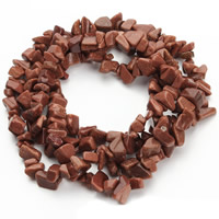 Goldstone Beads, Nuggets, 5-8mm, Hole:Approx 1.5mm, Length:Approx 31 Inch, Approx 120PCs/Strand, Sold By Strand
