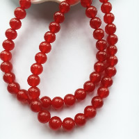 Carnelian Beads, Round, natural, different size for choice, Hole:Approx 1-2mm, Length:Approx 15 Inch, Sold By Strand