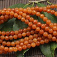 Red Aventurine Bead, Round, natural, different size for choice, Hole:Approx 1-2mm, Length:Approx 15 Inch, Sold By Strand