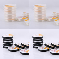 Crystal Thread, with paper spool, more colors for choice, 0.8mm, 10PCs/Lot, 15m/PC, Sold By Lot