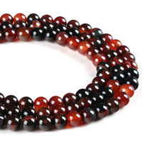 Natural Miracle Agate Beads, Round, different size for choice, Hole:Approx 1mm, Length:Approx 15 Inch, Sold By Strand