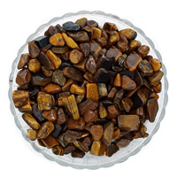 Tiger Eye Beads, Nuggets, no hole, 7-11mm, 50G/Bag, Sold By Bag