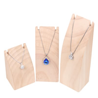 Wood Necklace Display, different size for choice, Sold By PC