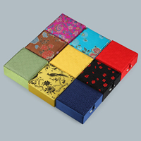 Satin Bracelet Box, with Cardboard & Resin, Square, different designs for choice, 100x100x45mm, Sold By PC