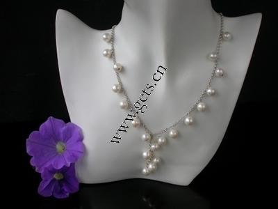 Pulseras de la perla, Perlas cultivadas de agua dulce, 8,,9mm,