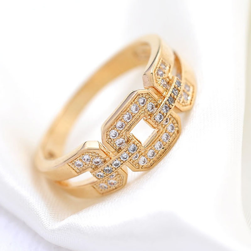1 gold color plated