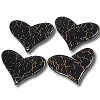 Crackle Acrylic Pendants