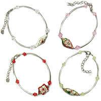 Crystal Cloisonne Bracelets