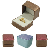 Leatherette Paper Ring Box