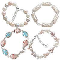 Pearl Sterling Silver Bracelets