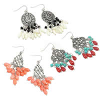 Coral Chandelier Earring