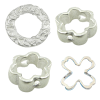 Sterling Silver Frame Beads