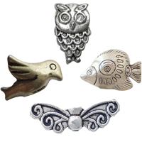 Zinc Alloy Animal Beads