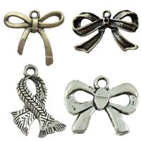 Zinc Alloy Ribbon Pendants
