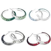 CRYSTALLIZED™ Elements Crystal Hoop Earring