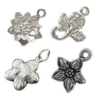 Sterling Silver Flower Pendants