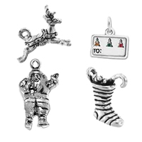 Sterling Silver Christmas Pendants